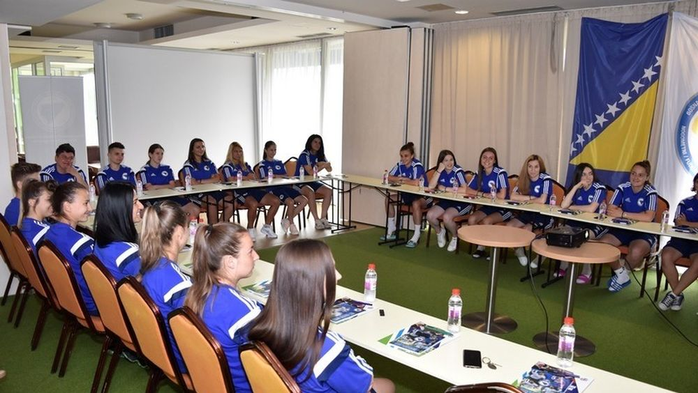 "NSBIH u saradnji sa FS Norveške organizuje seminar ""Girls Football Coaching Course"""